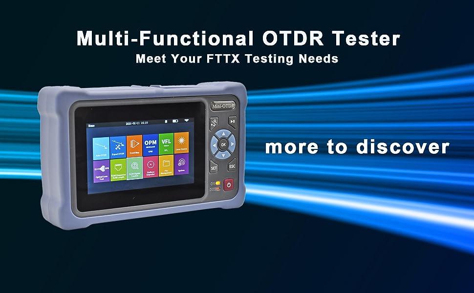 OTDR, otdr fiber optic tester, OTDR MM sm, otdr exfo Fusion splicer