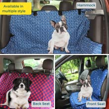 multiple style back seat cover front seat cover hammock seat cover