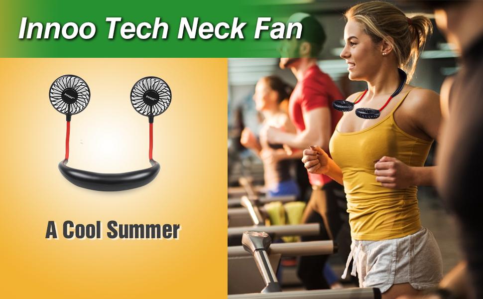 USB neck fan
