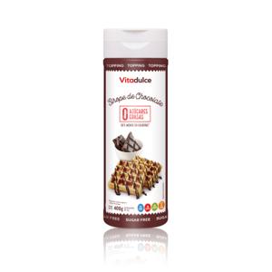 sirope chocolate, sirope sin azúcar, sirope sin calorías, sirope 0 calorías, topping de chocolate
