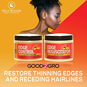 Good2Gro Edge Control Promotes Fuller, Thicker and Controlled Edges s