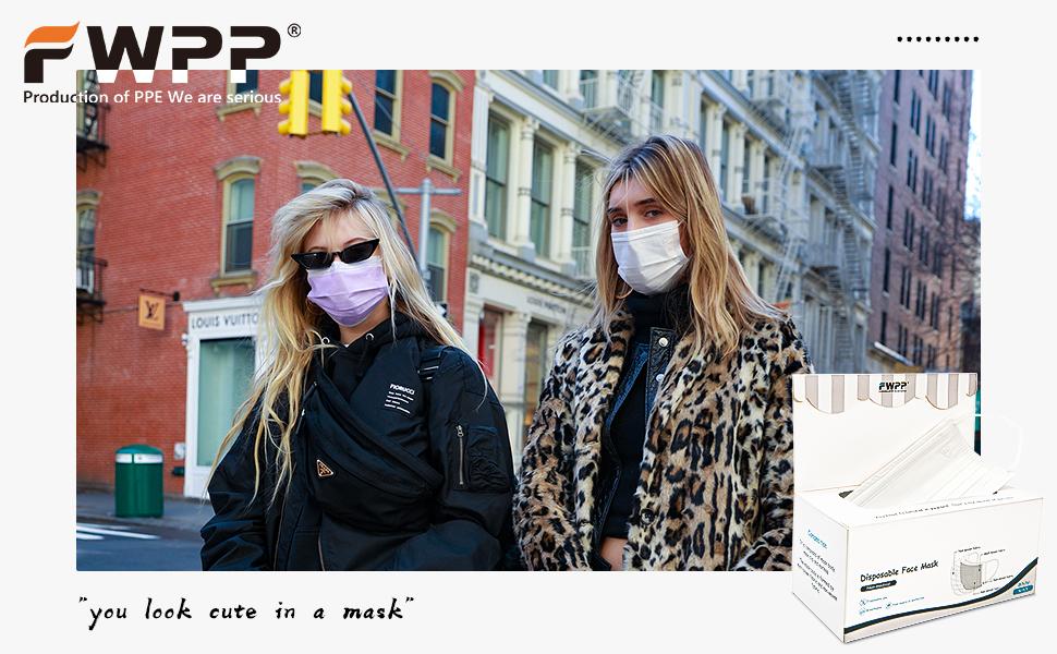 FWPP Disposable Face Masks