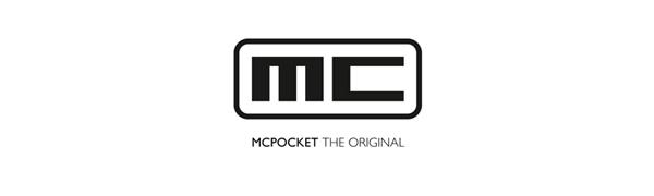 MCPOCKET Kartenetui mit Geldklammer slim wallet Geldbörse minimal carbon