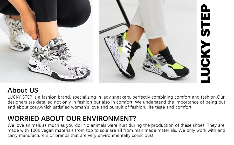 lucky step fashion sneakers