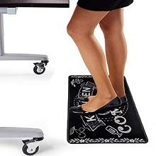 anti-fatigue comfort standing desk mat