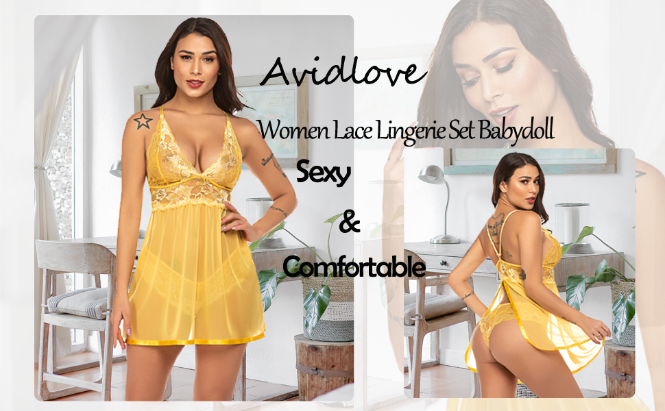 lace lingerie for women two piece sexy teddy lingerie for women bodysuit lingerie for women
