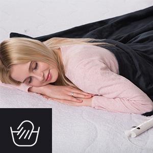 Couverture électrique Dickens Confortable Sous Lit Chauffant Super Deluxe
