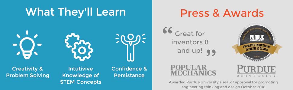 Creativity Problem Solving Confidence Persistence Popular Mechanics Purdue University STEM Concepts