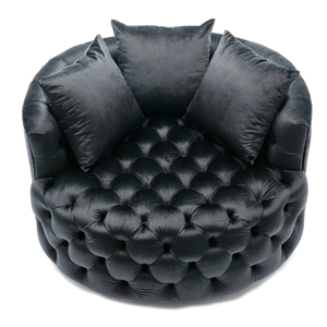 big round chair for living room hotel sofa
