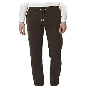 khaki jogger pants sport soft warm fleece protection