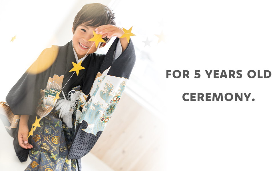 for 5 years old ceremony.