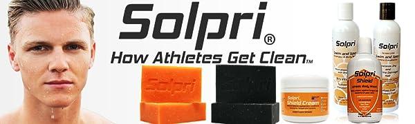 Solpri Skincare For Athletes Banner