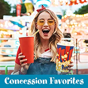 Snappy offers popcorn kernels, salts, oils and seasoning at concession stands