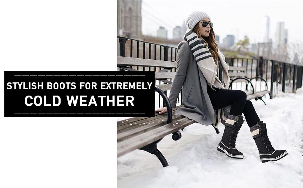 Womens winter boott by GlobalWin