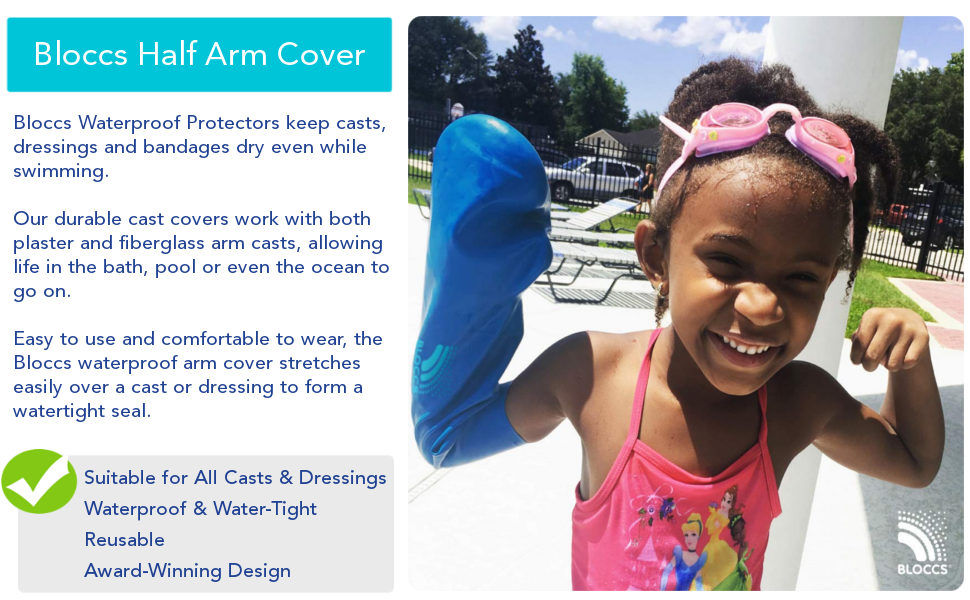 cast cover waterproof arm kids adult