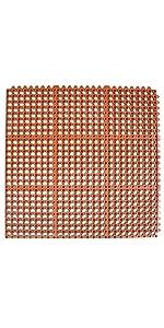 Red Rubber Floor Mat