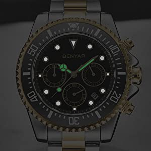 BENYAR luminous watch