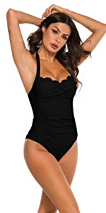 ruched swimsuits