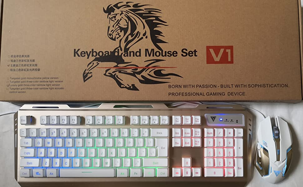 pc games keyboard mouse