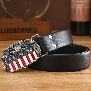 KDG Western cowboy belt buckle for belt accessories Custom buckle