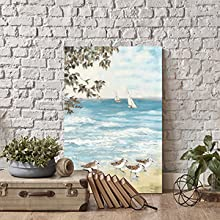 abstract landscape canvas wall art,