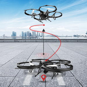 drone one key take off