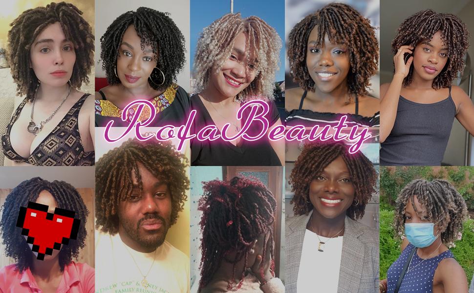 Blonde soul dreadlock wig for women