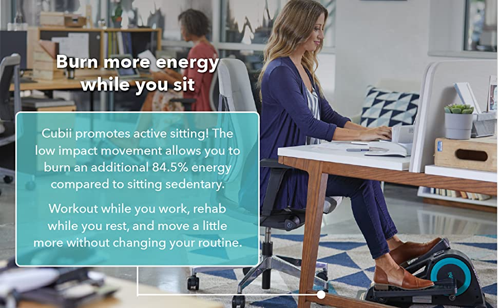 Burn more energy while you sit!