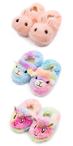 toddler girls fuzzy slippers