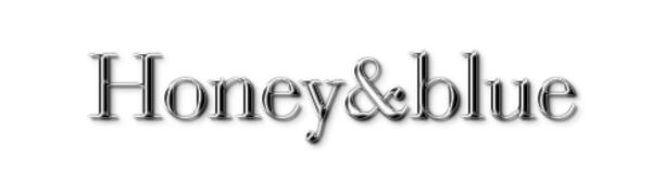 honey&blueロゴ