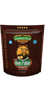 2 LB Don Pablo Colombian Water Process Decaf