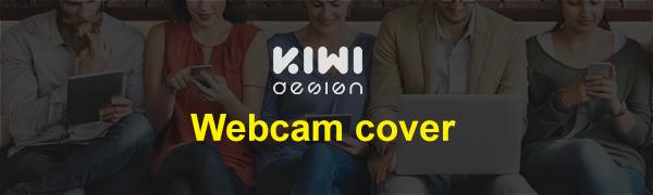 KIWI design Webcam cover