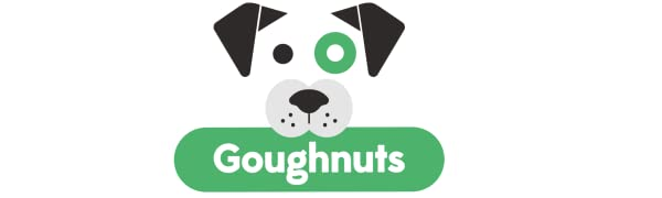 Goughnuts Indestructible Dog Chew Toys and Training Toys for Aggressive Power Chewers