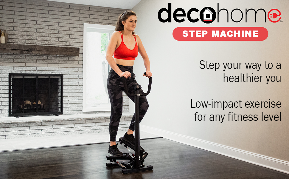 step machine cardio at home apartment workout stepper fitness elliptical treadmill beginner easy