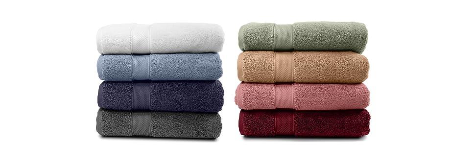 Bath Towels Best Colors for decoration