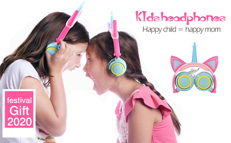 Girl headphones