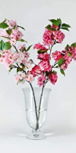 Wazon Glass Urn Vase floral arrangements flowers centerpiece wedding dining restaurant