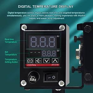 Digital Temperature Display