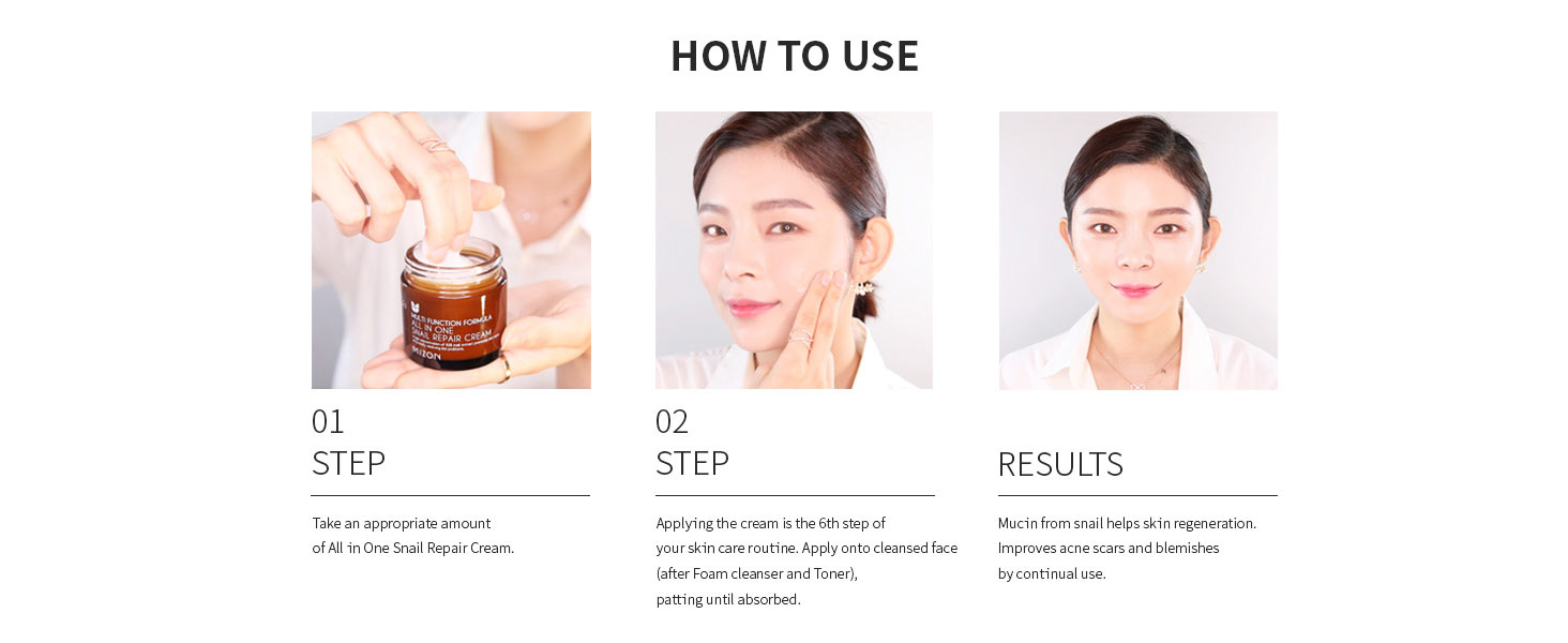 mizon mizon all in one snail repair cream snail repair cream snail repairing cream korean skincare