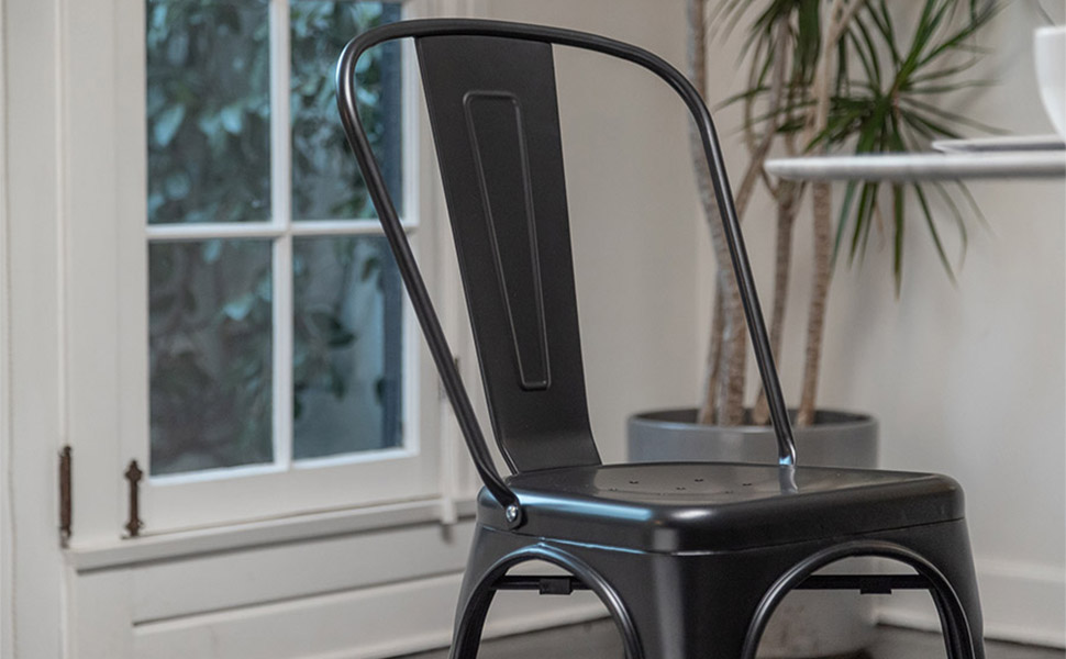 Stackable chair restaurant chairs