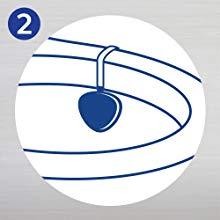 Lysol Hygienic Automatic Toilet Bowl Cleaner, Atlantic Fresh 2 ct