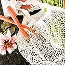 Organic Cotton Muslin Produce Bag