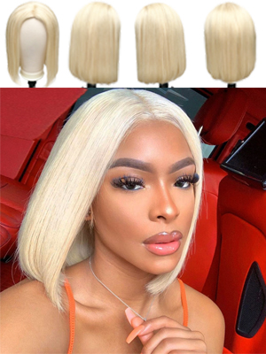 613 blonde bob wigs