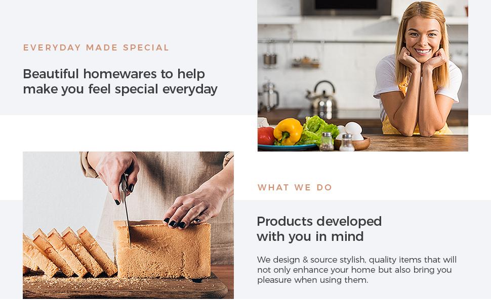 Baie Maison Kitchen Counter Storage Organizer Utensil Holders for countertop cooking utensils crock