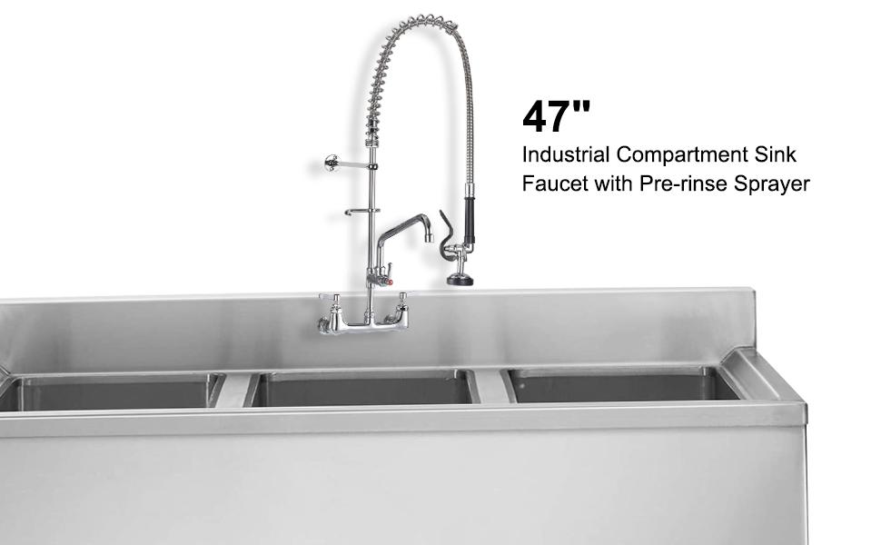 Commercial Kitchen Sink Faucet