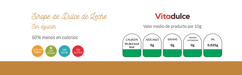 topping de dulce de leche, producto para veganos, producto diabético, salsa de dulce de leche