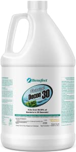 benefect decon 30 botanical natural disinfectant