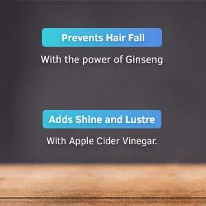 ginseng, apple cider vinegar