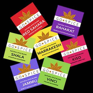 spice blends harissa curry baharat garam masala