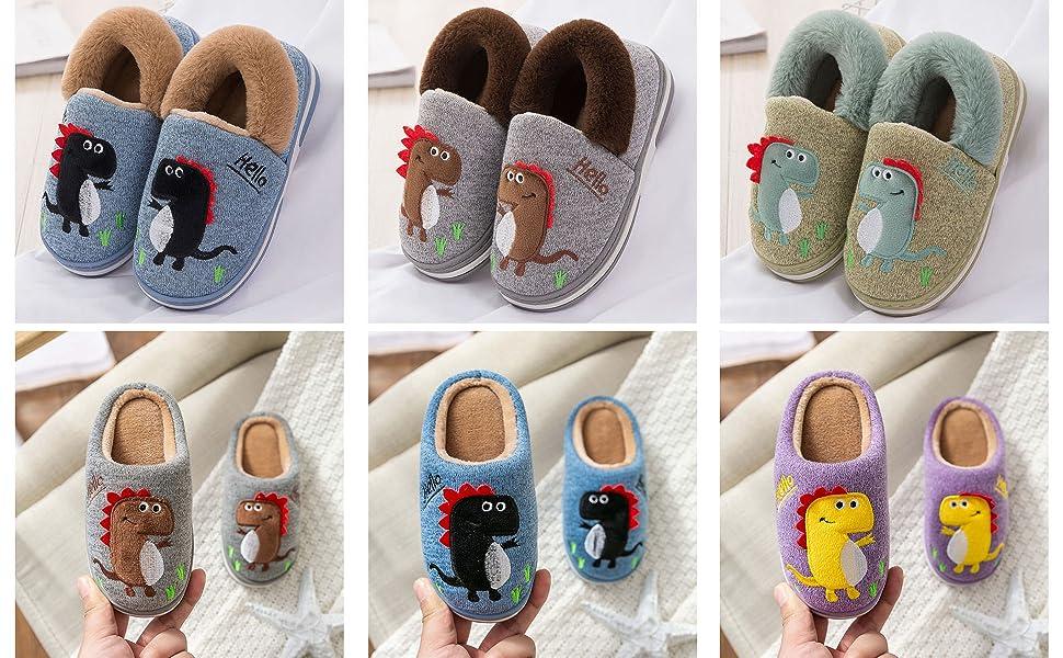 boy girl slippers